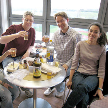 Alumni Juergen Zech, Stefan Uhle, Cécile Evrin, 2008