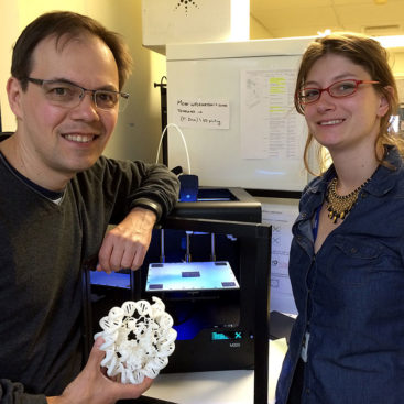 3D-printed nucleosome