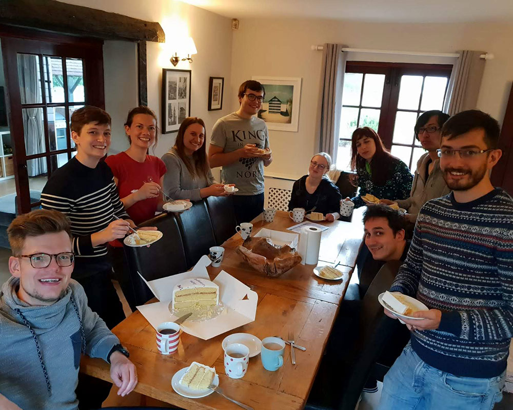 08 October 2018 – DNA Replication Group retreat at Bellropes guesthouse in Bradwell-on-Sea, Southminster, United Kingdom