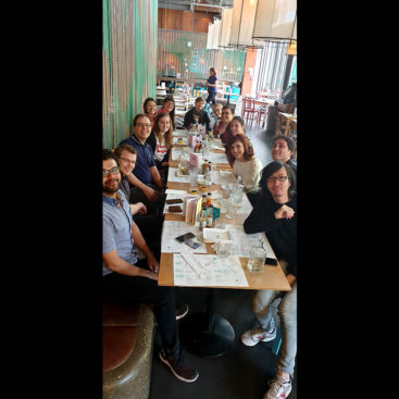 Farewell lunch for Noelia Fernández-Rivero at Wahaca at Westfield London