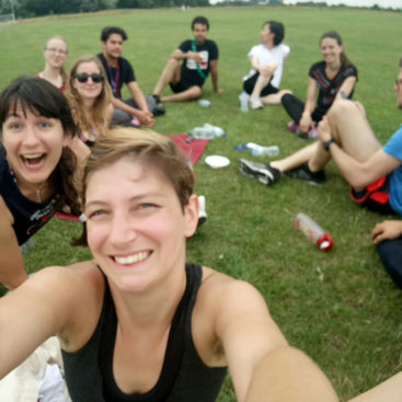 "The DNA Replication Group team (the ""Speckcialists"") reached the semi-final of the Institute annual rounders tournament!"
