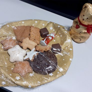 Christmas 2020 treats courtesy of Christan Speck